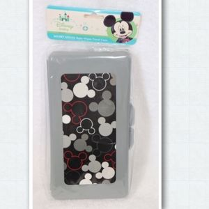Disney Mickey Mouse Baby Wipes Plastic Travel Case